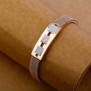 750 Rose Gold Design Bracelet MLB126