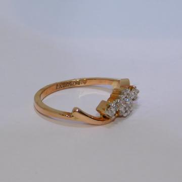 18K gold diamond ring agj-lr-261