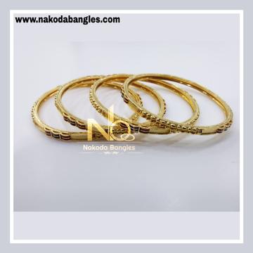 916 Gold Patra Bangles NB - 834
