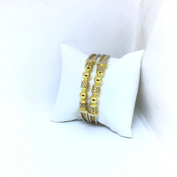 DESIGNING FANCY GOLD KADA BANGLES by