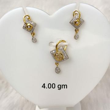 daily wear Cz pendant set for women by