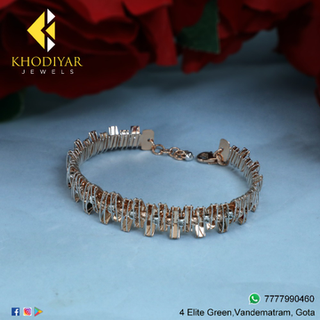 22KT Gold Stylish Bracelet KJ-B013