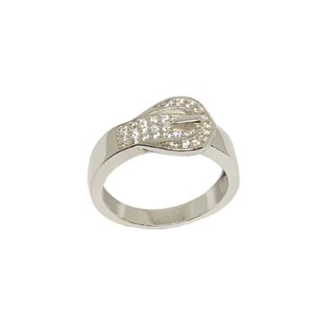 925 Sterling Silver Designer Ring MGA - GRS2189