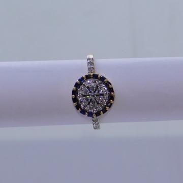 18K gold diamond ring agj-lr-321