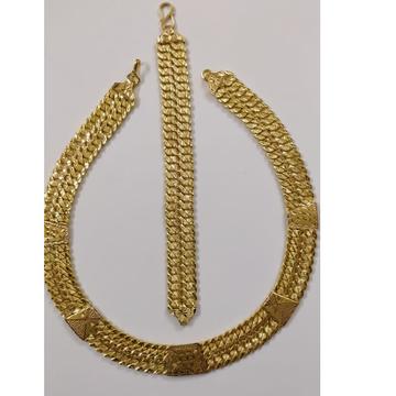 22K/916 Gold Designer Chain