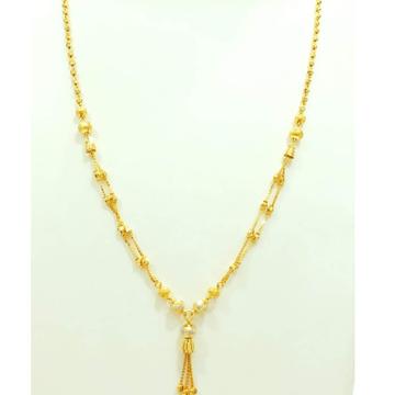 22 carat gold ladies classic latkan dokiya chain RH-DC718