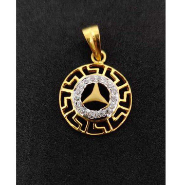 916 Gents Fancy Gold Pendant P-44537