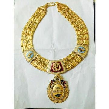 22kt Gold Gents Designer Necklace