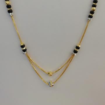 916 gold fancy black kediya dokiyu by Vinayak Gold