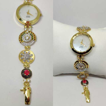 18k Ladies Fancy Gold Indian Watch G-2230