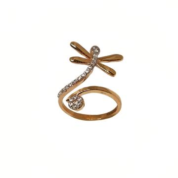 18K Rose Gold Honey Bee Designer Ring MGA - LRG119...