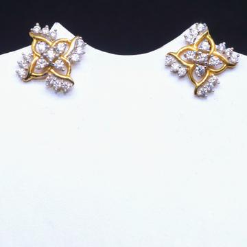 22KT / 916 Gold CZ Diamond Earring for Women BTG00... by