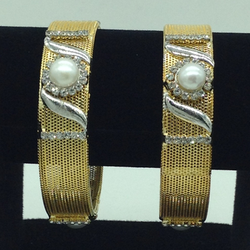 Pearls CZ Fancy Bangles JBG0303