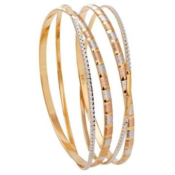 22 kt 916 gold bangle moder designe by