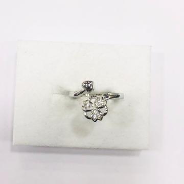 925 sterling silver flower cut Ring for women