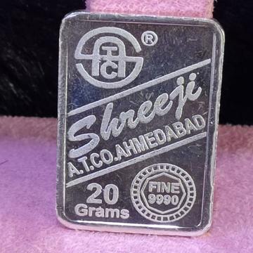 999 Silver Twenty Gram Silver Lagdi