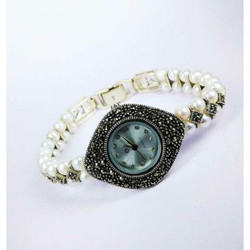 Fancy 925 Silver Ladies Watch