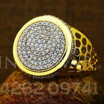 Dazzeld Gents Ring 22kt