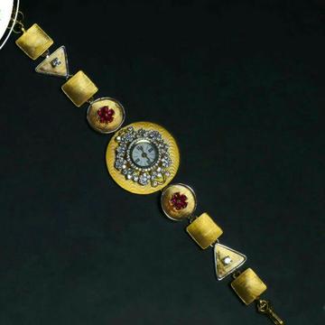 Antique Handmade Ladies Watch 22kt