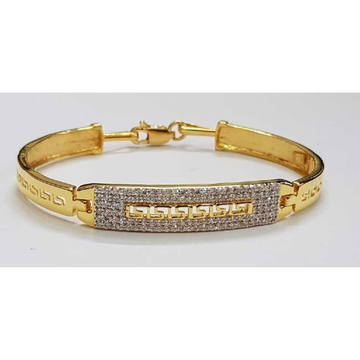 22k Gents Fancy Gold Bracelet G-3453