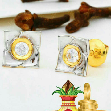 18kt Attractive Singal Stone Beby Tops STG -0101