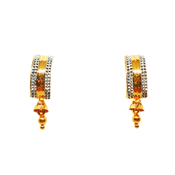 22K Gold Fancy Earrings MGA - BTG0411
