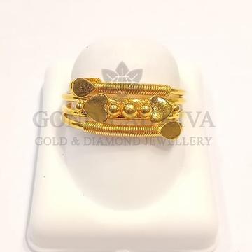 22kt gold ring glr-h19