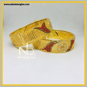 916 Gold Calcutty Bangles NB - 431