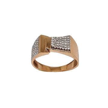 18K Rose Gold Modern Gents Ring MGA - GRG0262