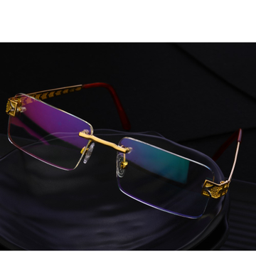 750 Gold Delicate Men's Spectacle S28