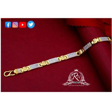 22 carat gold gents bracelet RH-GB421
