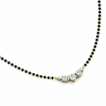 18KT Gold fancy casual ware mangalsutra for ladies... by