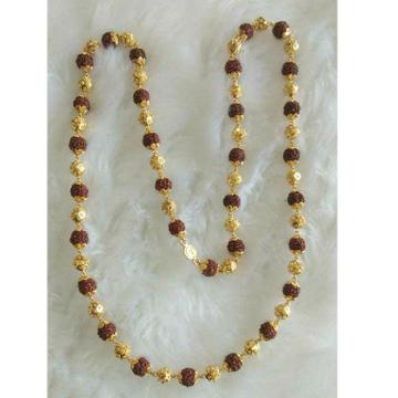 Gold Rudharaksh Mala by
