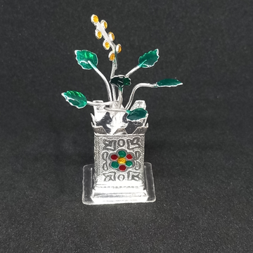 silvar tulsi kyaro by Rangila Jewellers