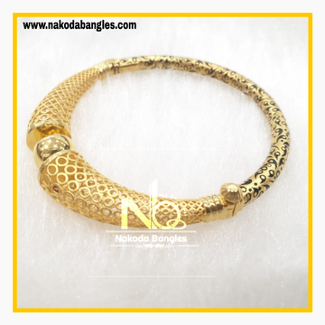 916 Gold Pipe Bangles NB - 881