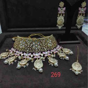 925 silver Kundan Set by Veer Jewels