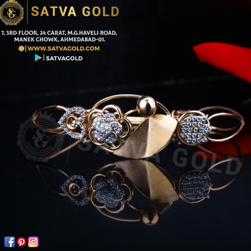76 ROSE GOLD KADA SGK-0016
