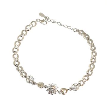 925 Sterling Silver Designer Bracelet MGA - BRS1750
