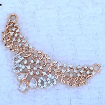 18kt Rose Gold mangalsutra Pendal  RH-MSP 002