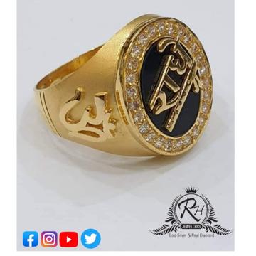 22 carat gold gents rings RH-GR253