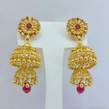 Gold Jummar Earrings by