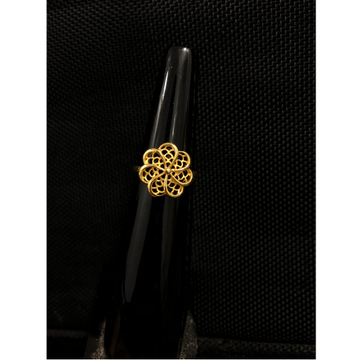 22Kt Gold Classic Ring For Women KDJ-R024 by