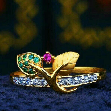 Exclusive Design Cz Fancy Ladies Ring LRG -0248