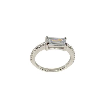 925 Sterling Silver Modern Ring MGA - LRS3481
