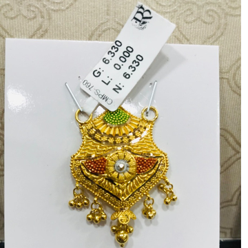 22 carat gold mangalsutra RH-MN792