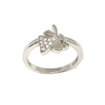 925 Sterling Silver Modern Ring MGA - LRS3397