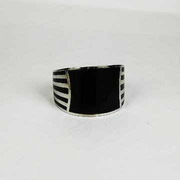 92.5 sterling silver enamel ring ml-120