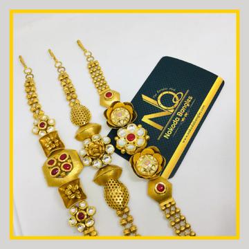 916 Gold Antique Bracelet NB - 1033