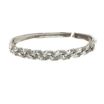 925 Sterling Silver Diamond Ladies Bracelet MGA - KRS0041