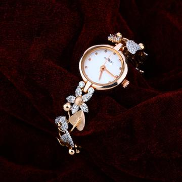 Rose Gold 18K Ladies Watch-RLW06